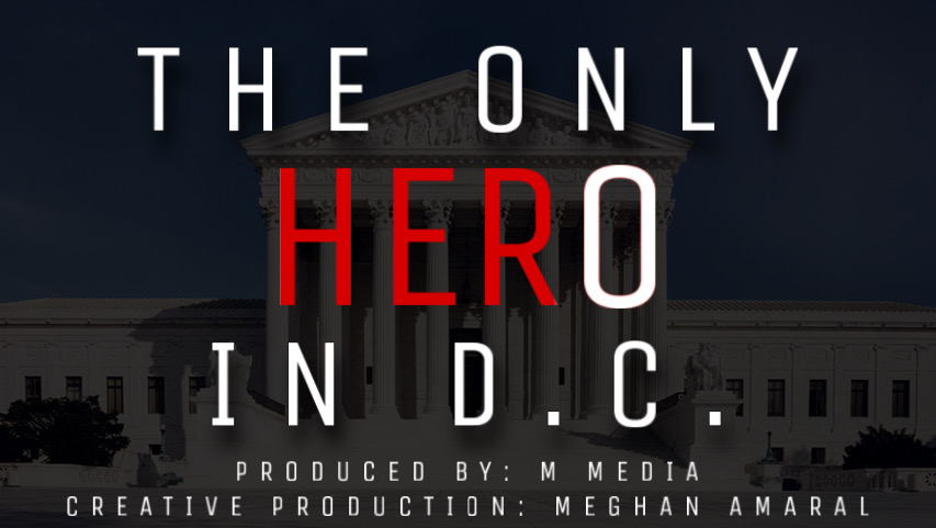 The Only Hero in D.C. - An original M Media Documentary